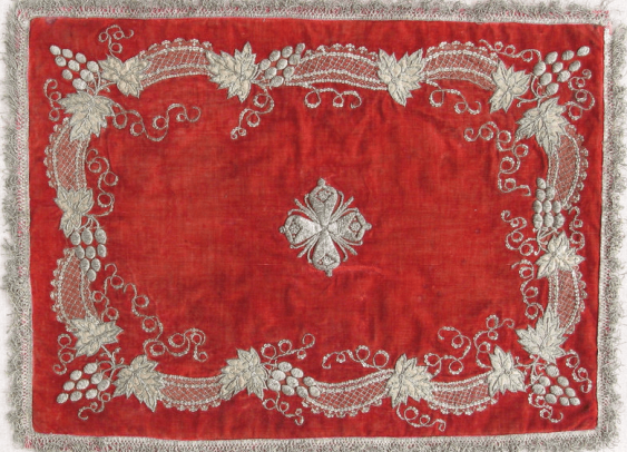 The shroud Pokrivtsi 18th century - photo 3