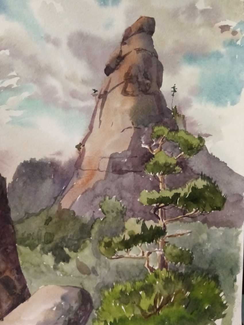 MARINA Havova. Mountain Okzhetpes - photo 1