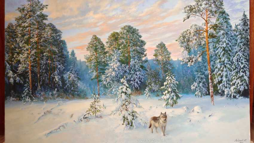 ANDREI ANDREEV. Winter evening - photo 1