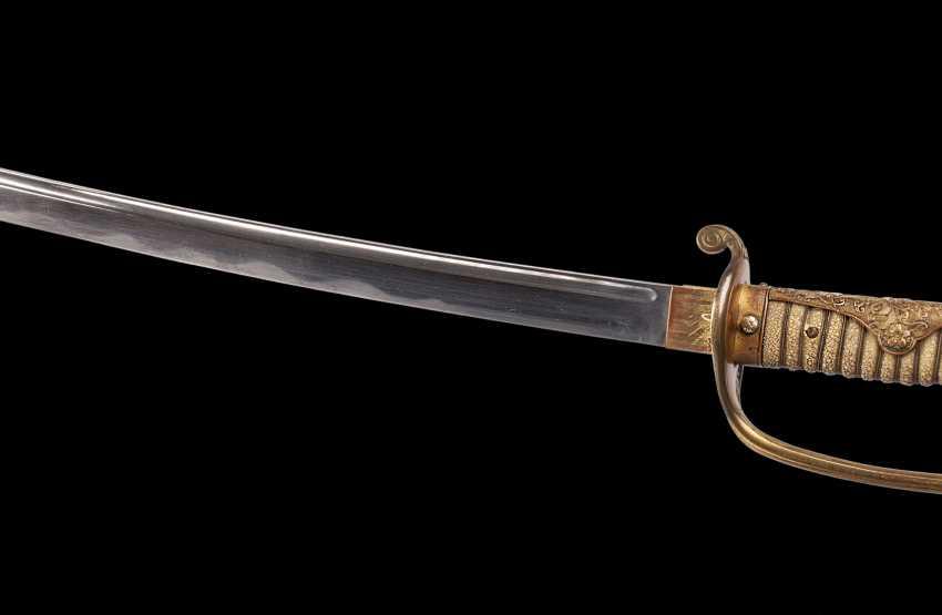 Kyu-gunto. Samurai sword(katana) in the frame mod. 1876 - photo 4