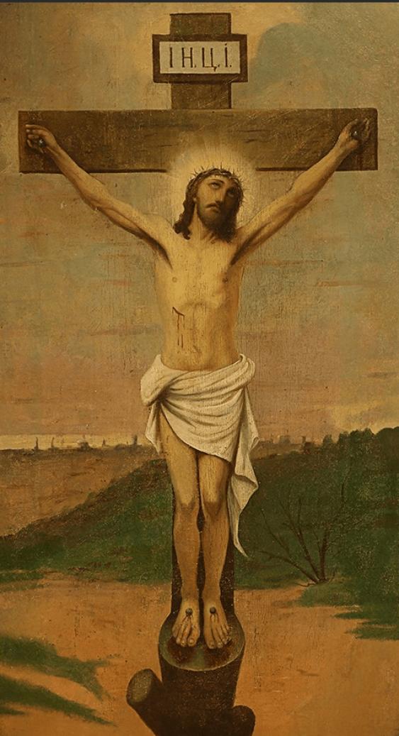 "Icon "" The Crucifixion Of ISA.XP.Ukraine - photo 1"