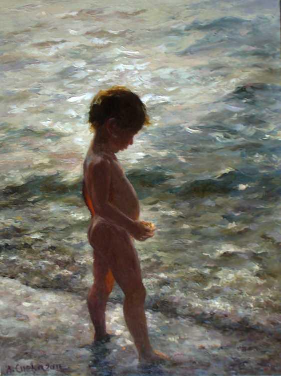 Anatolij Speka. Boy by the sea - photo 1