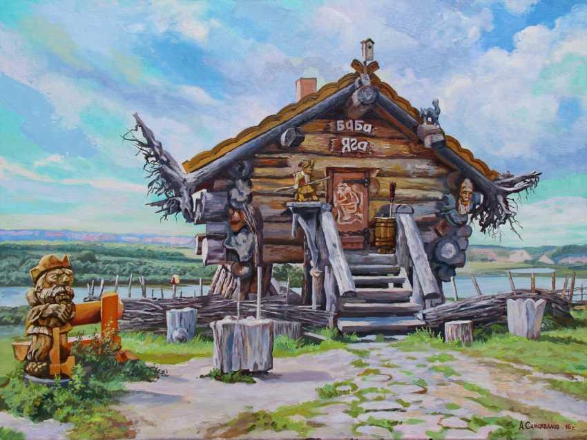 "Alexander Samokhvalov. ""In the village of Abalak"" - photo 1"