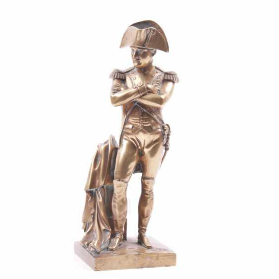 """Bronze gilded figure, bust """"Outdoor"""" - photo 1"""