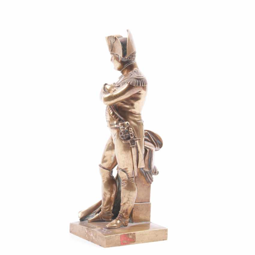 """Bronze gilded figure, bust """"Outdoor"""" - photo 2"""