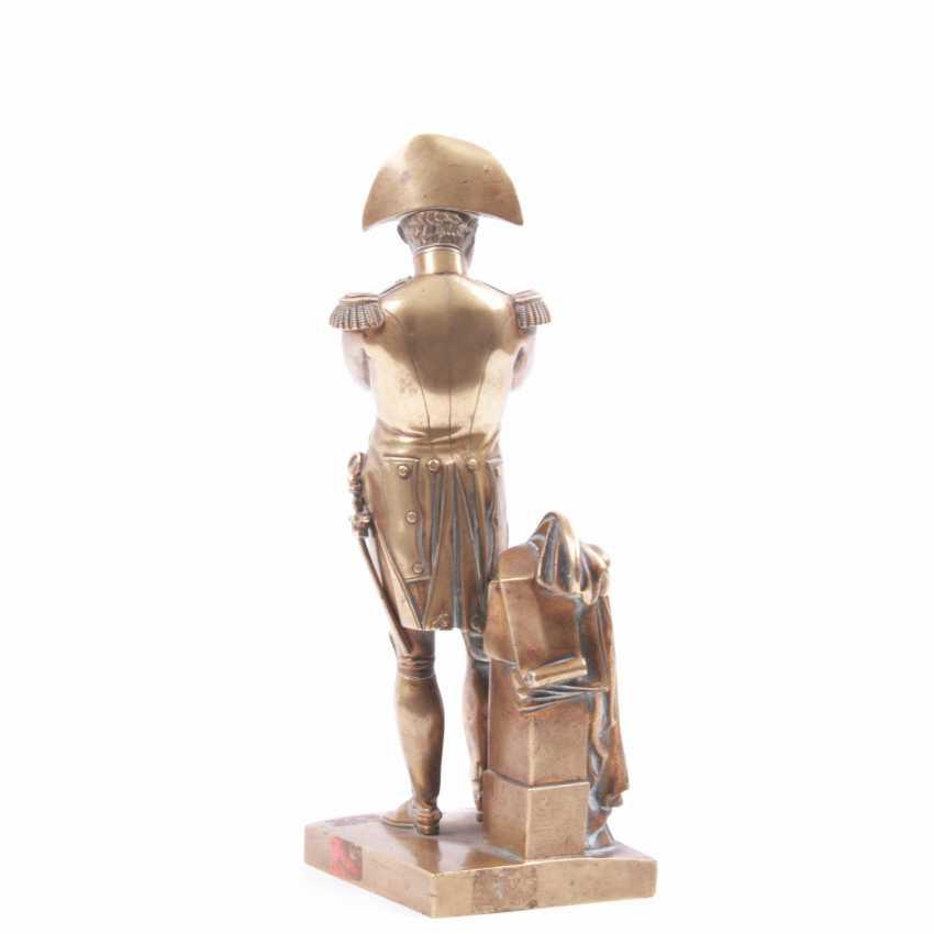 """Bronze gilded figure, bust """"Outdoor"""" - photo 3"""