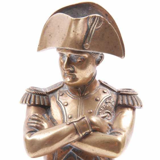 """Bronze gilded figure, bust """"Outdoor"""" - photo 5"""