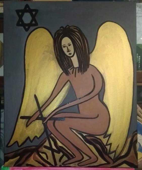Nataliya Kutikhina (Bronstein). Black Angel - photo 1