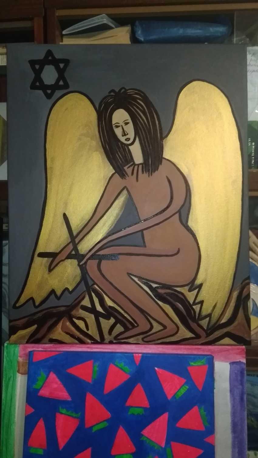 Nataliya Kutikhina (Bronstein). Black Angel - photo 2