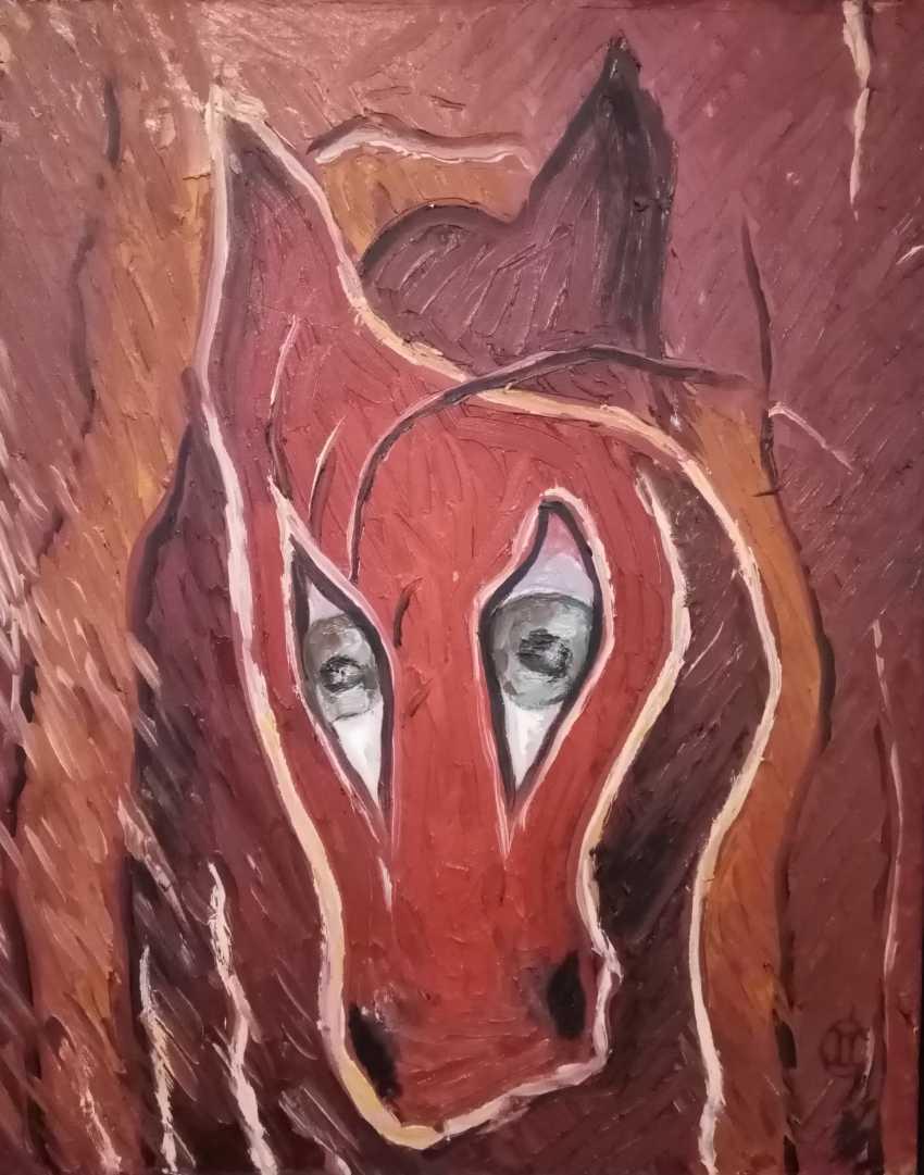 MARINA Havova. Sad horse - photo 1