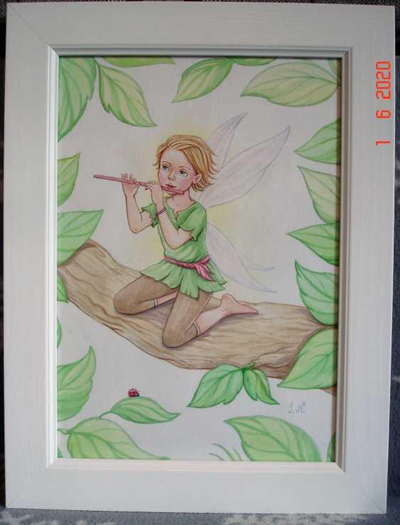 "Irina Nevshupa. Painting in the nursery ""Fairies"". Couple. - photo 3"