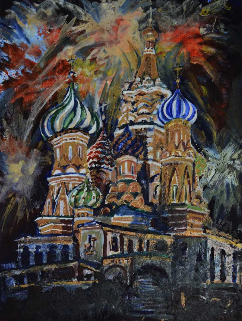 Anna Romaschenko. The temple and fireworks - photo 1