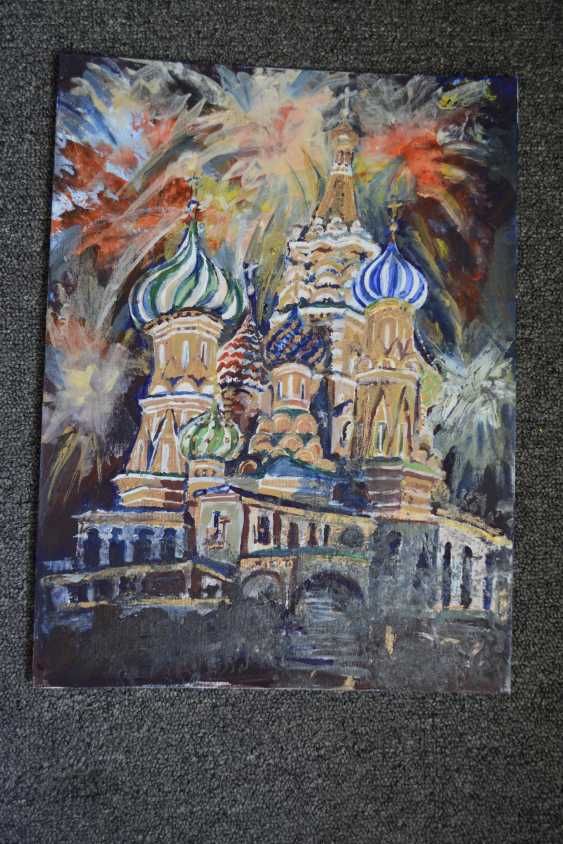 Anna Romaschenko. The temple and fireworks - photo 3