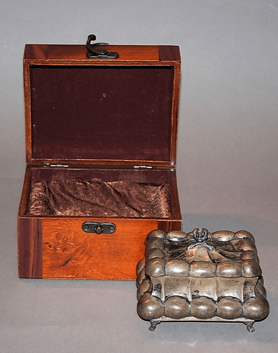 Box of silver.Austria-Hungary, the end of XIX century. - photo 1