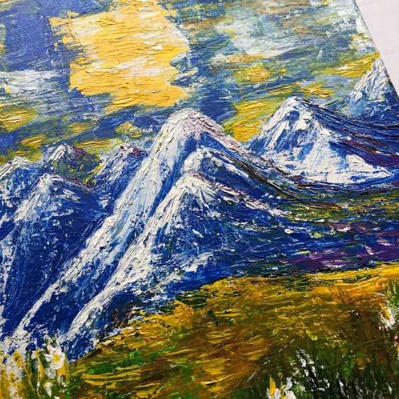 Irina Kudryavtseva. The Alps (Alpine mountains) - photo 2