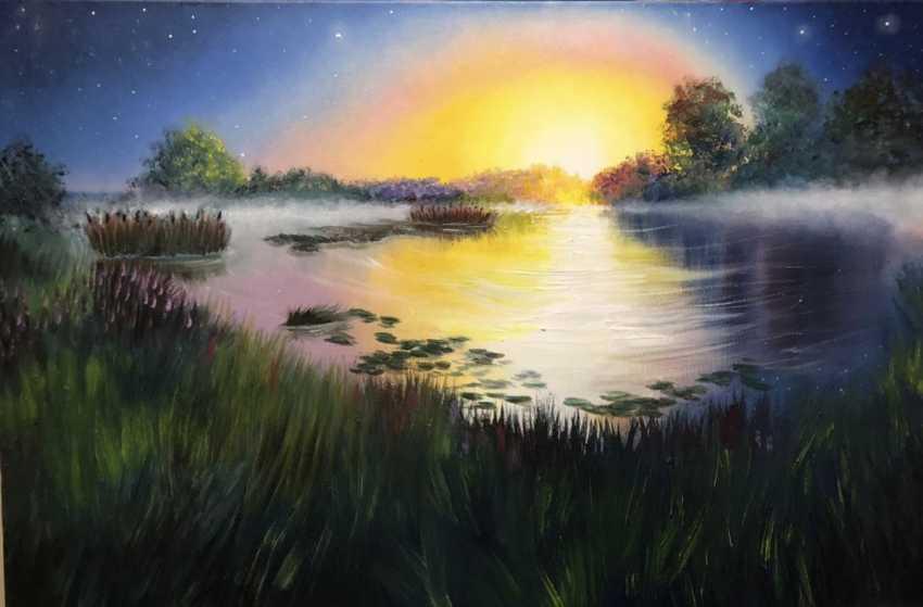 Anna Abelenets. Lake - photo 1