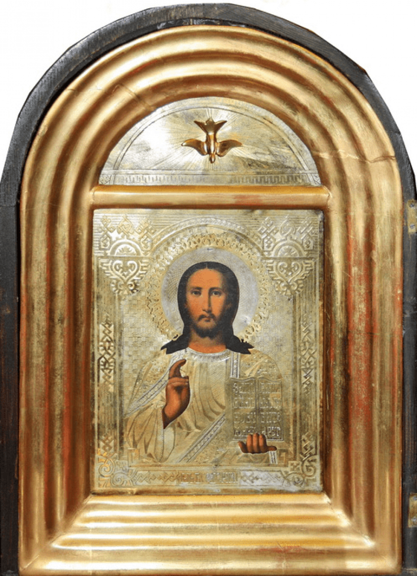 "The Icon Of The ""Pantocrator"", Russia - photo 1"