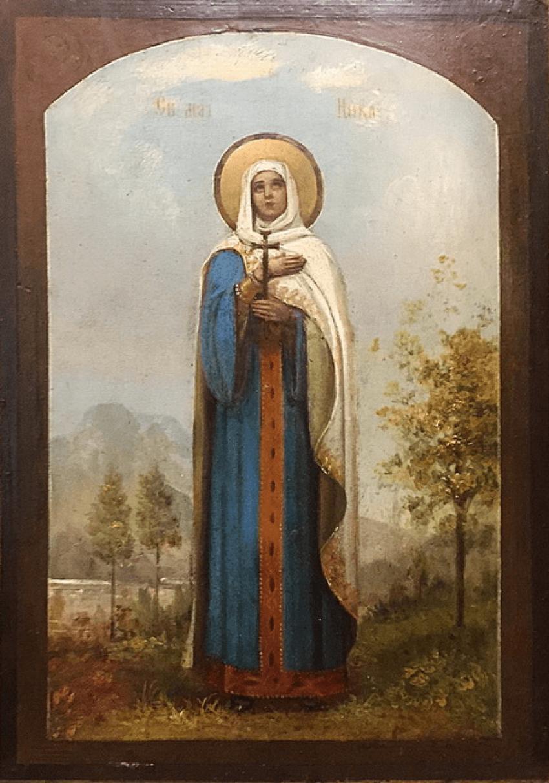 "Icon ""Martyr Nick Corinth"" - photo 1"