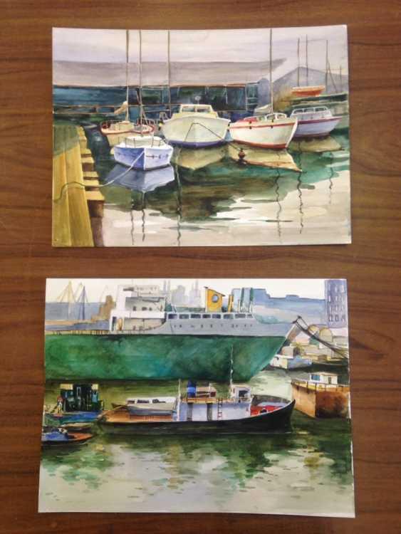 """Olga Gileva. """"On the pier"""" - photo 2"""