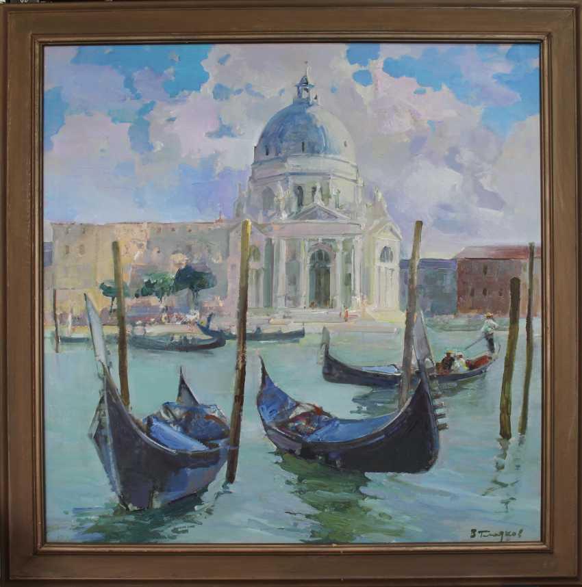 Vladimir Gladkov. Venice. The Cathedral of Santa Maria della Salute. - photo 1