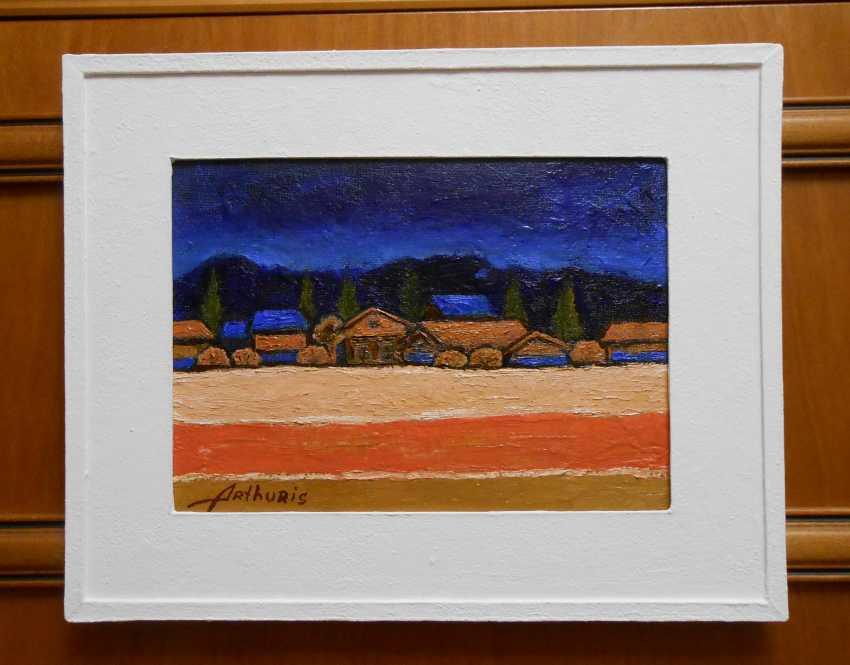 "Artur Isayan. ""Evening landscape"" - photo 1"