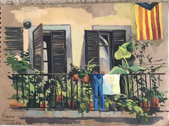 """Olga Gileva. """"The motives of the old city. Girona."""" - photo 1"""