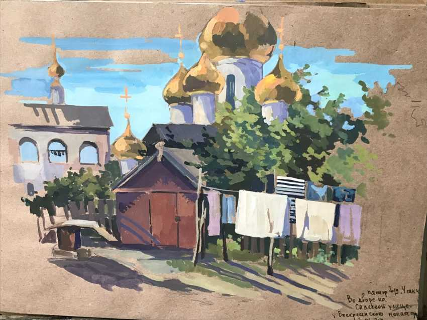 """Olga Gileva. """"Old house in Uglich"""" - photo 1"""