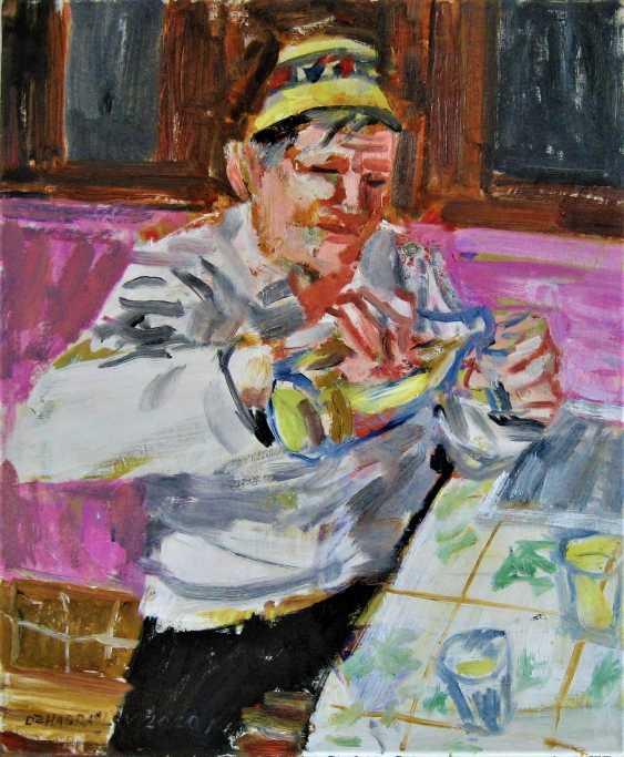 Vasyl Dzhabraylov. drinking man - photo 1