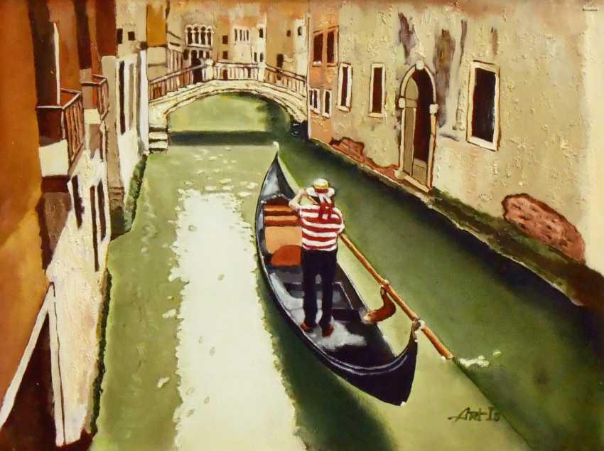 "Artur Isayan. ""Venedig. Gondoliere "" - Foto 1"
