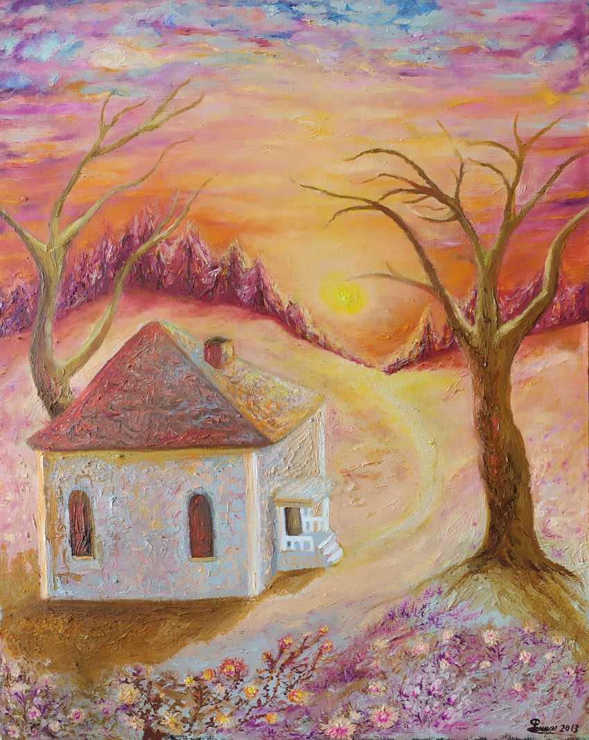 """Elena Filippova. """"Crimson forest"""" - """"Crimson Forest"""" - photo 1"""