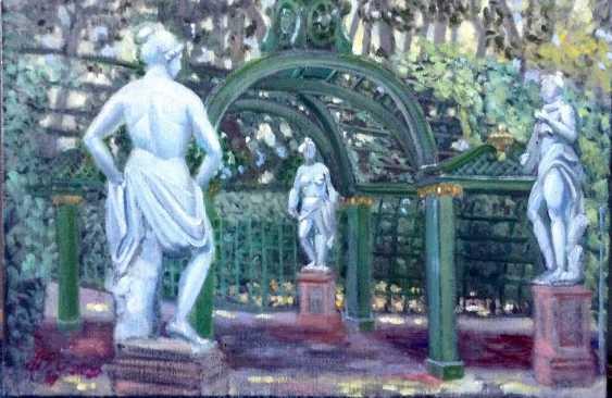 """Alla Senatorova. """"Jardin d'été. 3 de la sculpture."""" - photo 1"""