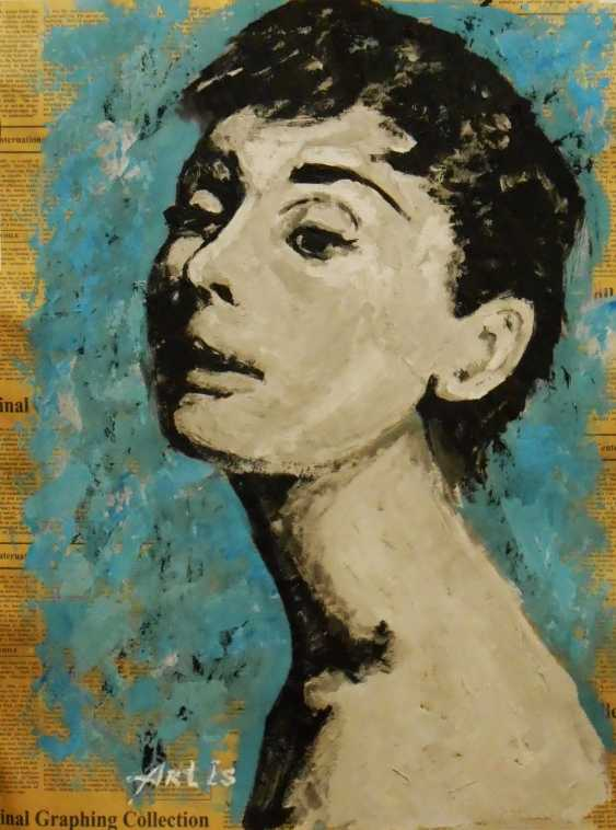 """Artur Isayan. """"Faces (VIII)"""" / SOLD OUT - photo 1"""