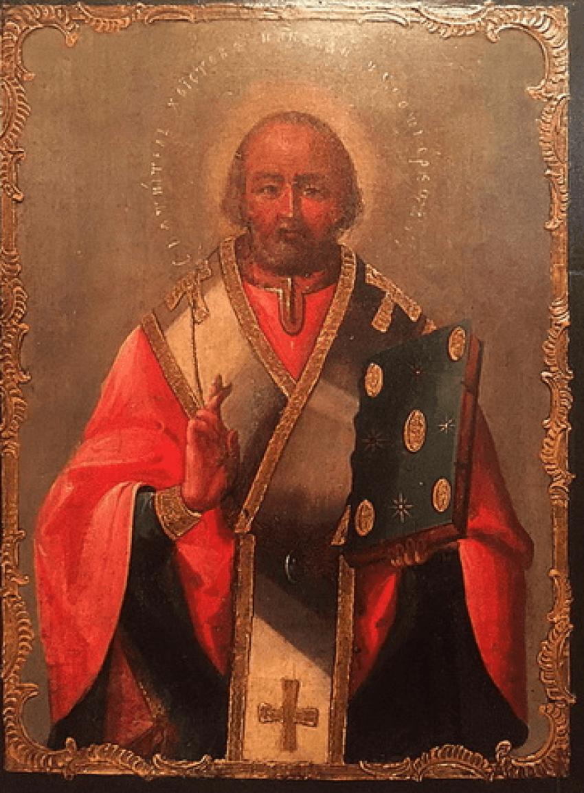 """Ikone """"Heilige Nikolaus Wundertäter - Foto 1"""