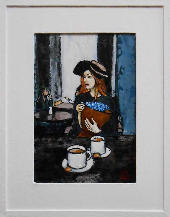 "Artur Isayan. ""In a Paris cafe"" - photo 1"