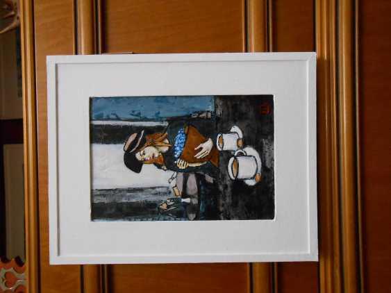 "Artur Isayan. ""In a Paris cafe"" - photo 3"
