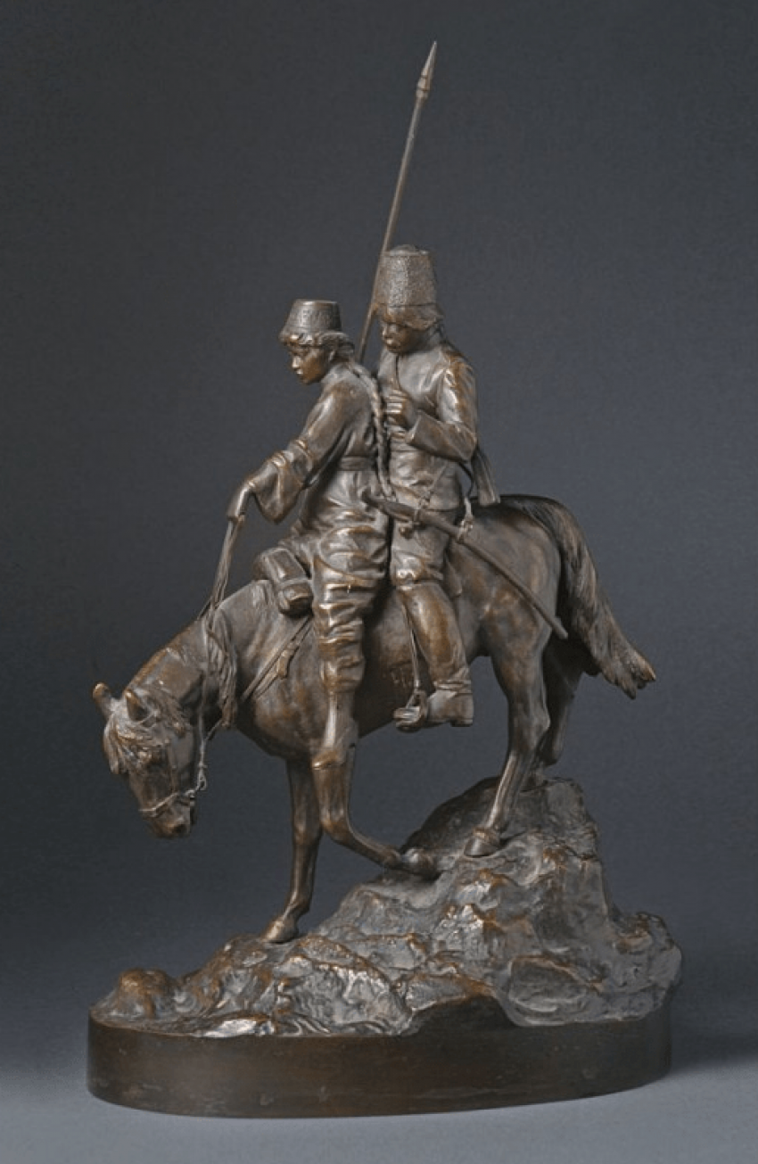 "Figurine ""Cossack and Kazachka"" - photo 1"