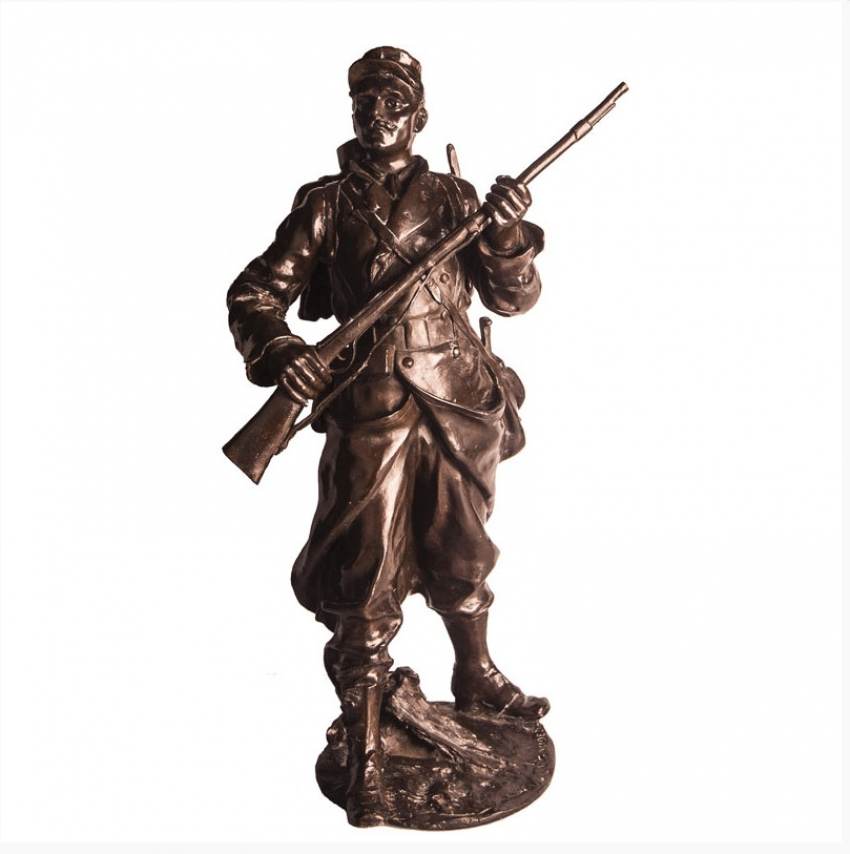 """Sculpture """"Soldier of the foreign Legion """" - photo 1"""