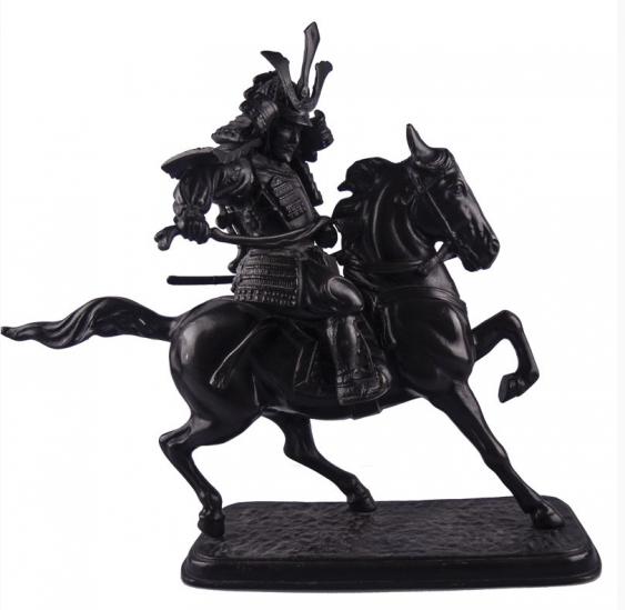 "The sculpture ""Samurai on horseback"" - photo 1"