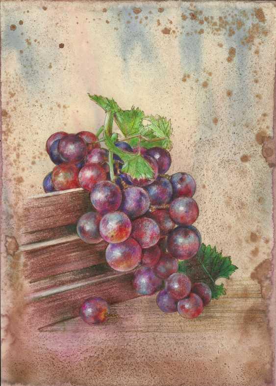 Natasha Mishareva. A bunch of grapes. 2020. Handmade. The Author - Natalia Pisareva - photo 1