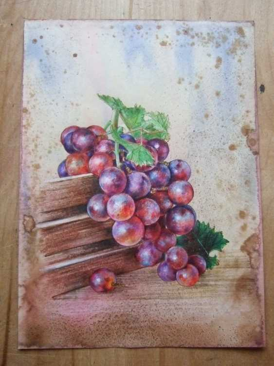Natasha Mishareva. A bunch of grapes. 2020. Handmade. The Author - Natalia Pisareva - photo 3