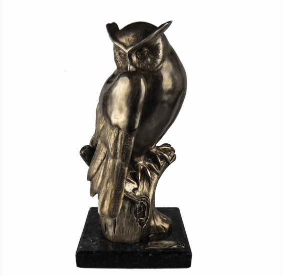 "The Sculpture "" Owl "" - photo 1"