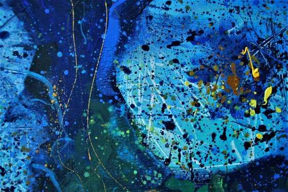 Olga Polichtchouk. Blue flowers - photo 2