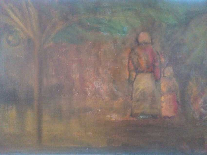 Avtandil Andriasov. Grandmother with granddaughter - photo 1