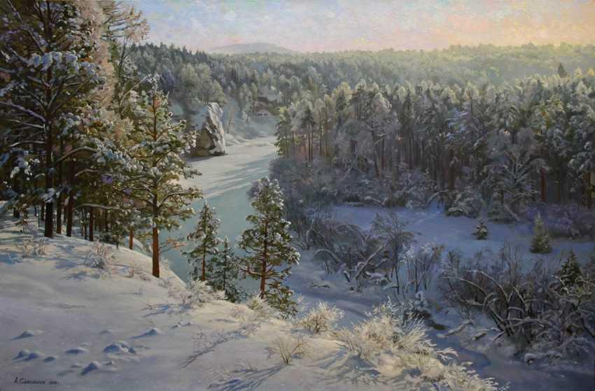 """Alexander Samokhvalov. """"Over the snowy river"""" - photo 1"""