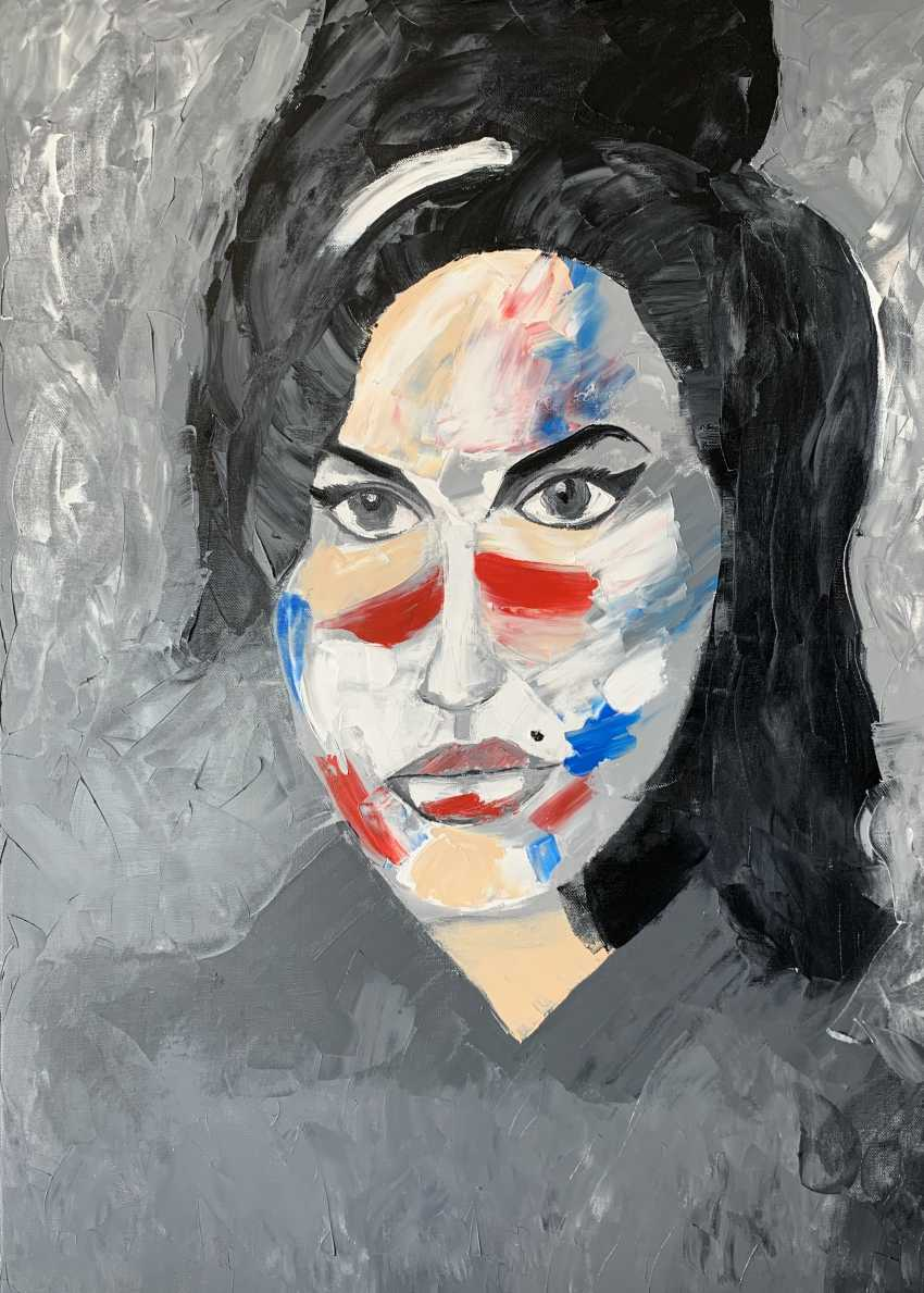 Aik Grigoryan. Amy Winehouse - photo 1