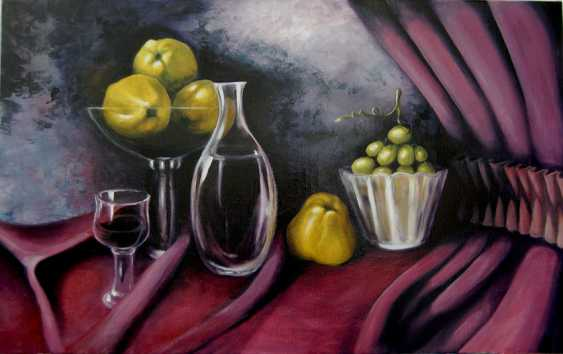 Tatjana Jansberga. Wine and quinces. (Quince) - photo 1