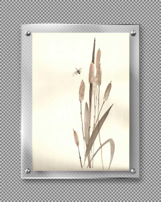 Natasha Mishareva. Reeds and a dragonfly. 2020. Handmade. The Author - Natalia Pisareva - photo 3