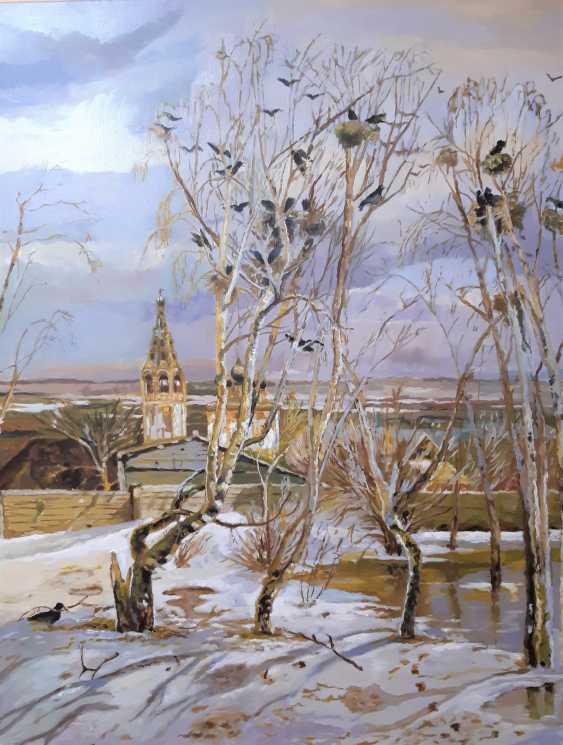 "Sergey Sterlov. On the motives of A. Savrasov ""Rooks have arrived"" - photo 1"