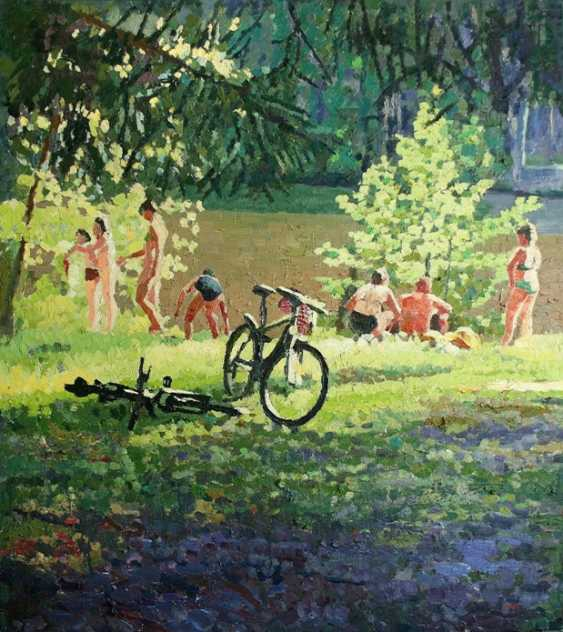"Mikhail Rudnik. ""Summer at the lake"" - photo 1"