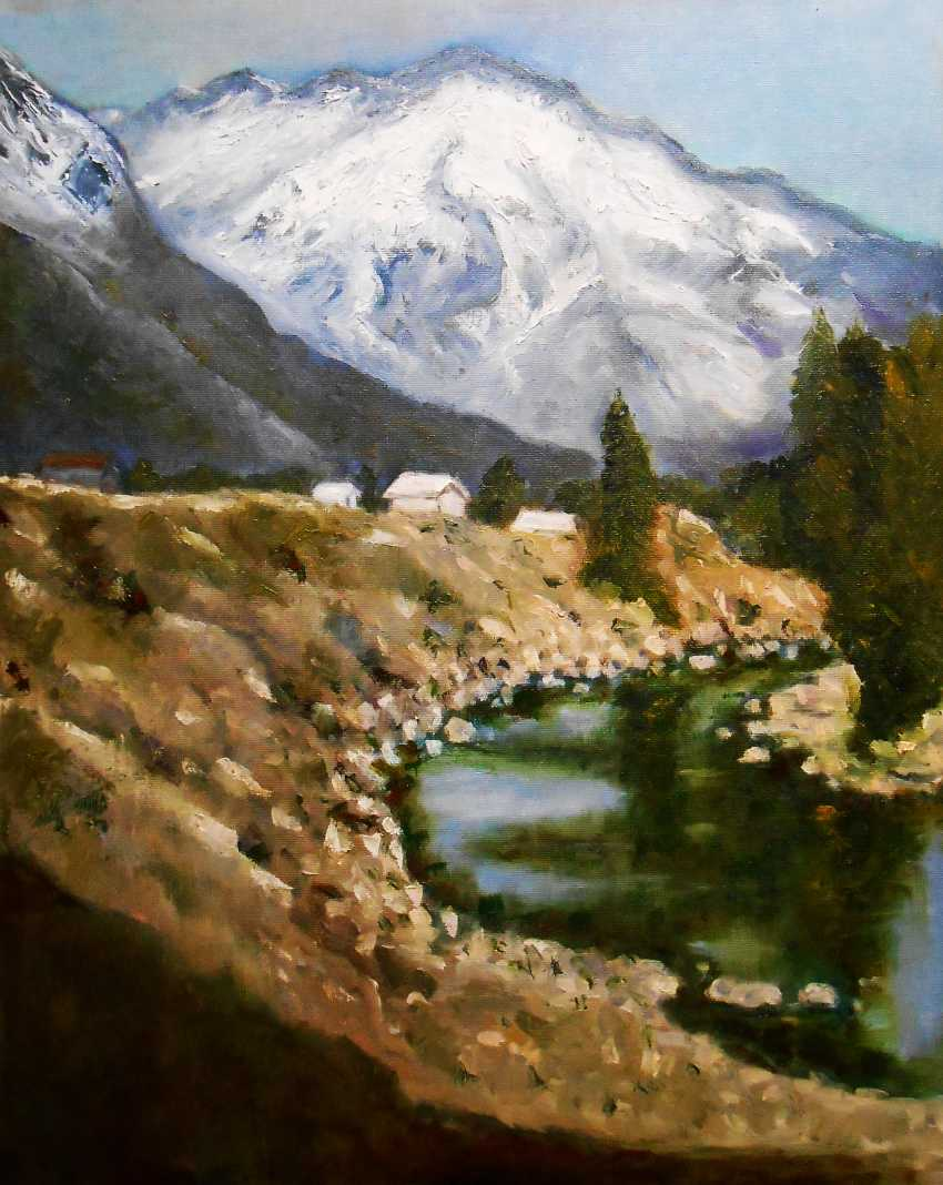 "Artur Isayan. ""Mountain landscape"" - photo 1"
